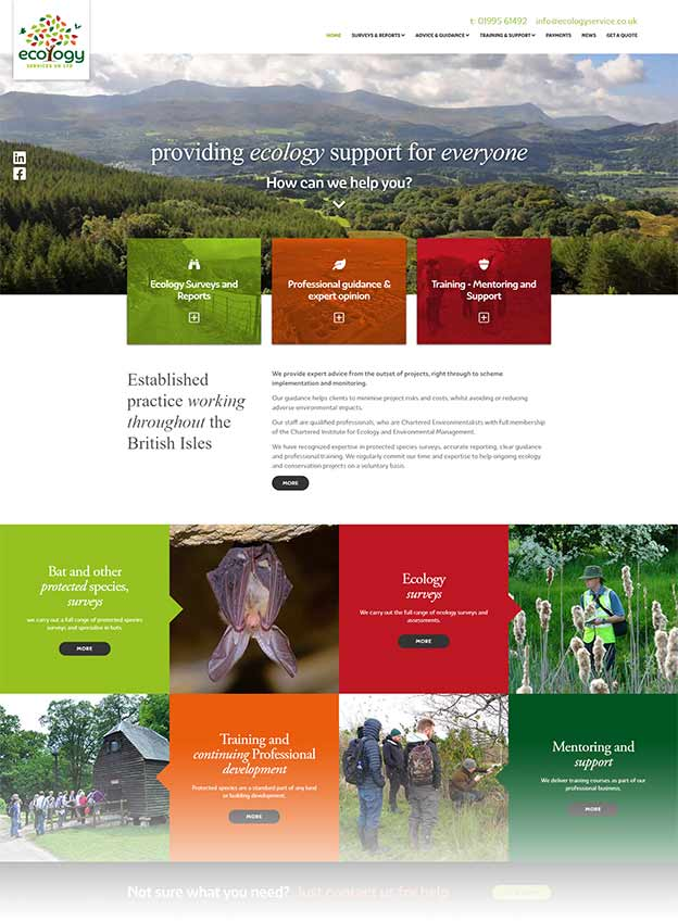Ecology Services Website